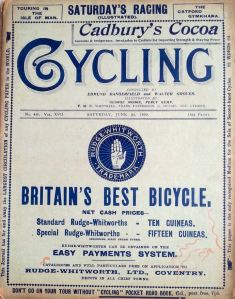 Cycling, the weekly magazine, from 6 June 1899