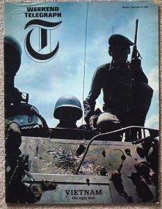 The first of the DailyTelegraph's colour magazines in 1964