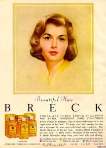 Breck shampoo advert from 1960