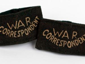 The Imperial War Museum holds Clare Hollingworth's epaulettes