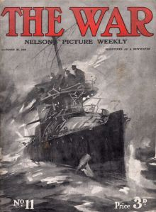 The War, a weekly from Nelsons, from 31 October 1914