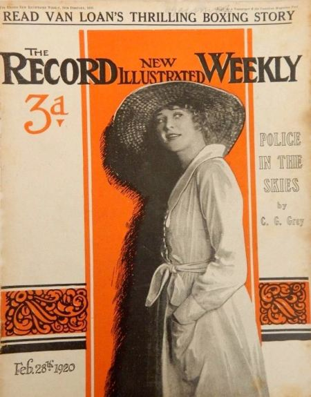 Record Weekly was the new title for New Illustrated in 1920