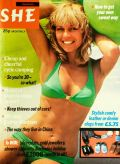Bikini days for She magazine in February 1977