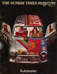 Mini painted by Alan Aldridge for the Sunday Times 1965