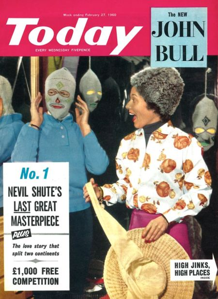 Today, the first issue of the cover new John Bull magazine, 27 February 1960
