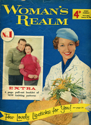 The first issue of Woman's Realm dated 22 February 1958