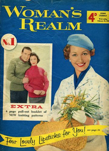 Decoupage Stationery Womans Day September 1958 | Antique Magazine Vintage Fashion Magazine 1950s Fashion Magazine