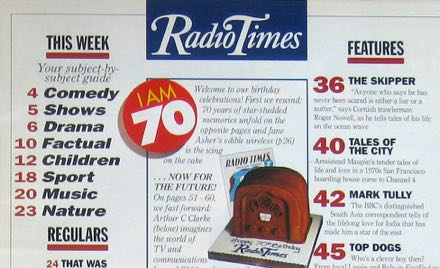 The Radio Times has been around since 1923