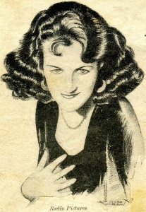 Portrait of Grace Fields form Radio Pictures in the song book