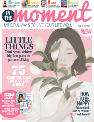 Immediate Media launched In the Moment with a July 2017 cover date to cater for women interested in mindfulness