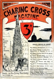 Charing Cross magazine took its name from a famous place in London -1900-first-issue-magazine-cover