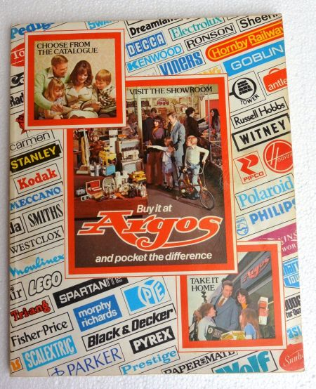 Argos catalogue No 6 from autumn 1976 sold on eBay for £149