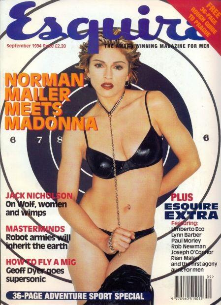 Madonna front cover Esquire magazine 1994