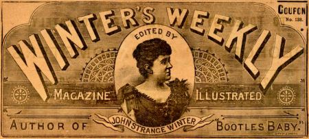 winters-weekly-magazine-masthead-1898-Henrietta-Stannard-as-John-Strange-Winter