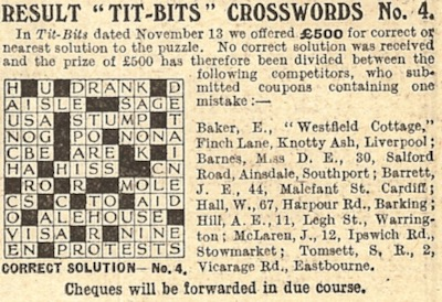 1926-crossword-craze-tit-bits-magazine-december-25