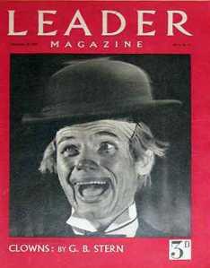 leader-1945-december-29-clown-christmas-cover