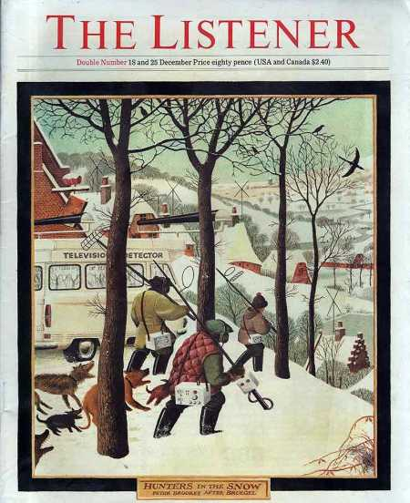 listener-1980-december-18-bruegel-Hunters-in-the-Snow-Peter-Brookes-cartoon