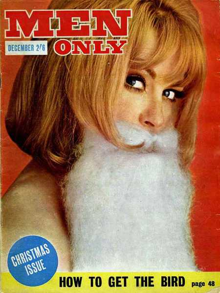 Men Only magazine front cover from December 1963