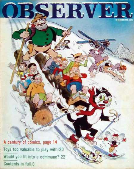 observer-1974-december-22-christmas-comics-cover