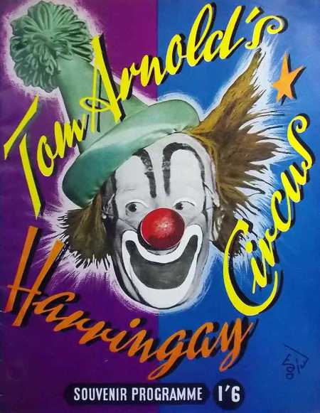 tom-arnold-haringay-circus-clown-souvenir-programme-1953