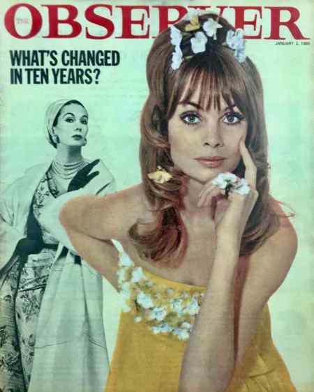 super models Barbara Goalen and Jean Shrimpton
