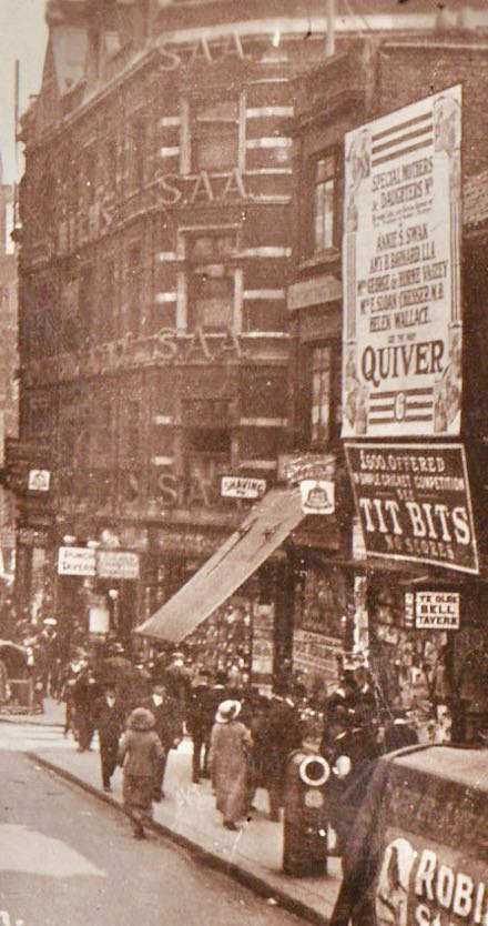 Fleet-Street-quiver-tit-bits-smiths-agency-1914