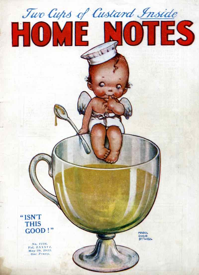 Mabel Lucie Attwell 1915 Home Notes magazine